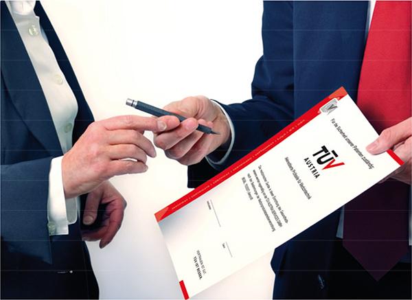 sertifikat tuv austria