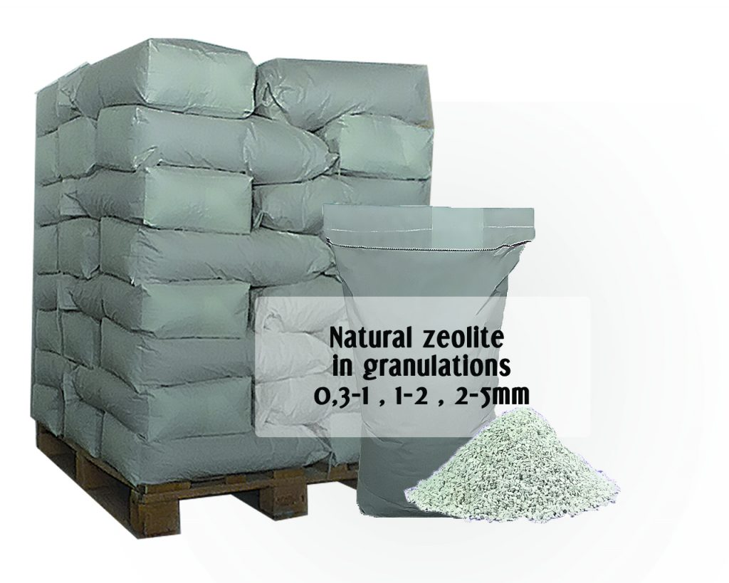 Picture of pallet packaging in granulation