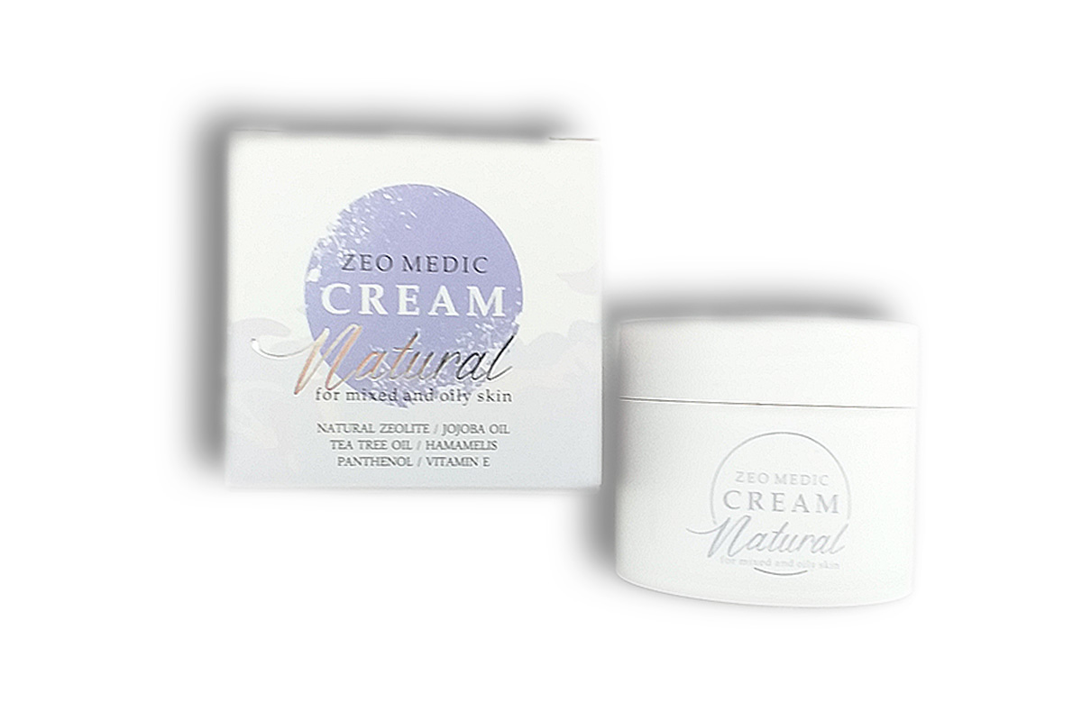 ZEO-MEDIC krema sa zeolitom za masnu kožu
