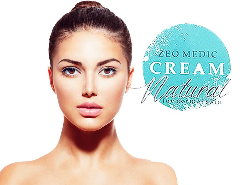 Prirodna krema za lice sa zeolitom za normalnu kožu
